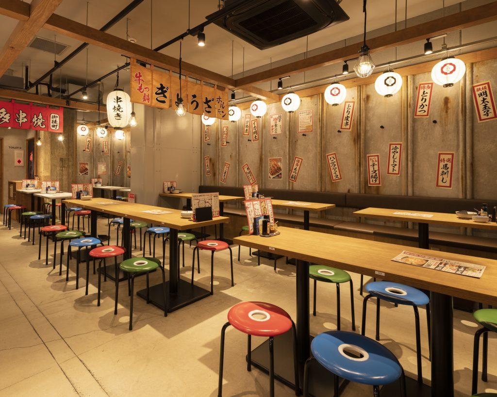 九州・博多屋台居酒屋で貸切宴会
